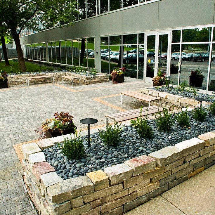 Landscape Design Outdoor Construction Residential: How To Design The Perfect Business Landscape