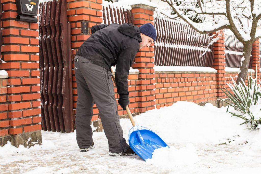 winter storm damages